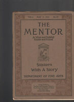 Mentor Magazine May 5 1913 Statues with a Story #12