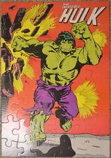 INCREDIBLE HULK GIANT FLOOR PUZZLE 1978 Casse-tete Marvelmania w ORIGINAL BOX