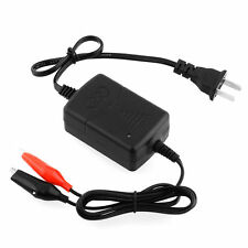 Car Auto Truck Motorcycle 12V Smart Compact Battery Charger Tender Maintainer AT