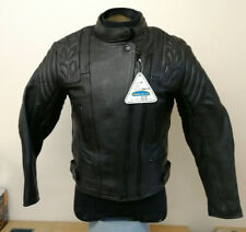 Dannisport Cougar Ladies Leather Motorcycle Motorbike Jacket, Size 10