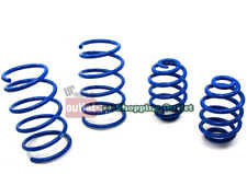 """Blue 2"""" Drop Manzo Race Sport Lowering Spring For 92-98 BMW E36 3-Series 2/4DR"""