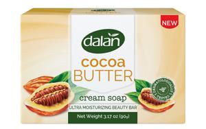 Bulk Lot Cocoa Butter Cream Soap - Ultra Moisturizing Beauty Bar - 12 Bars x 90g