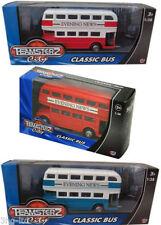 Voitures, camions et fourgons miniatures bleu en plastique