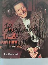 Josef Meinrad (1913-1996) orig.-sign. Foto