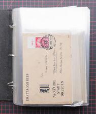 DDR 1956-1986 Sammlung FDC Ersttagsbriefe - komplett abgebildet -
