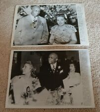 SEVEN 1930's 40's Press Photos Father Divine, African American spiritual leader