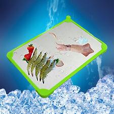 300mm x 215mm x 3mm carne scongelamento Vassoio per scongelare i surgelati rapido per piastra Sbrinamento