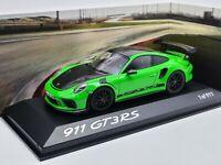 Minichamps PH Porsche 911 991.2 Miami Blue GT3 RS 1:43 Diecast Car 413067038