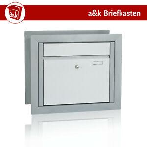 Briefkasten für Gabionenzaun, Entnahme vorn, Farbe nach Wahl (Art.71)