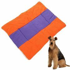 Pet Dog Cat Puppy Bed Mattress Fleece Kennel Cushion Pad Pillow House Comfort AU