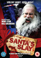 Santa's Slay DVD (2008) Bill Goldberg, Steiman (DIR) cert 15 ***NEW***
