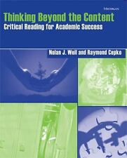 Thinking Beyond the Content: Critical Reading for Academic Success, Cepko, Raymo