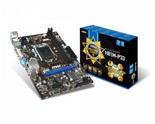 MSI H81M-P33 Socket LGA1150 MicroATX Motherboard DDR3 i3 i5 i7 4thgen I/O Sheild