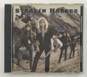 STEALIN HORSES (Self Titled) CD 1988 Arista Records OOP Turnaround Rock Band VG