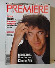 PREMIERE MAGAZINE 12/93 FREDERICO FELLINI - PATRICK BRUEL  ISABELLE ADJANI (P67)