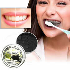 Natural Organic Activated Charcoal Teeth Whitening Powder Bamboo Toothpaste