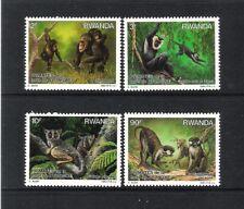 RWANDA (1988) - Y&T 1259/1262 **MNH - SINGES / MONKEYS