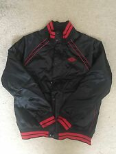 Nike Air Jordan 1 OG Satin Wings Jacket Banned Size Large number 33 of 54 Bred