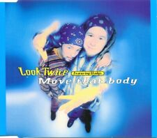 LOOK TWICE featuring GLADYS - Move that body 4TR CDM 1994 EURODANCE