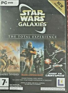 Star Wars Galaxies The Total Experience - PC DVD + Manual