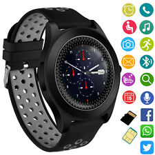 Bluetooth Smart Watch Unlocked Touch Screen For Samsung Galaxy S9 Plus S8 S7 S6