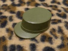 Vintage GI Joe 60s green army hat #4 made in USA cap military fatigue soldier