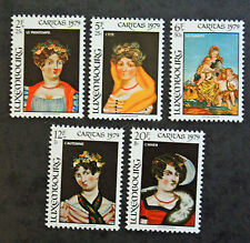 Timbre LUXEMBOURG Stamp - Yvert et Tellier n°948 à 952 n** (Cyn19)