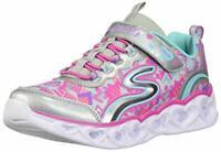 Skechers Children Shoes 20180L Fabric, Silver/Multi, Size 13.0 Xkwg