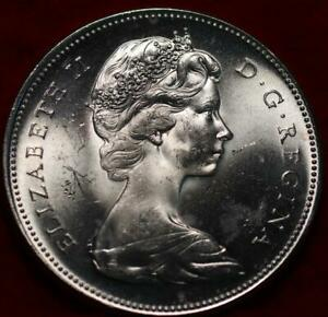 Uncirculated 1967 Canada Silver One Dollar Foreign Coin