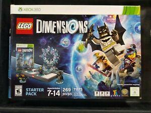 LEGO 71173 Dimensions Starter Pack XBOX 360 System Legos Set Batman
