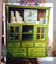 Handcrafted Solid Wood Cabinet