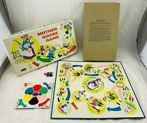 1966 Mother Goose Game by Whitman Complete in Good Condition FREE SHIPPING