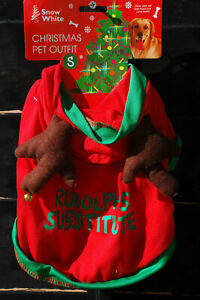 Rudolph Christmas Pet Outfit
