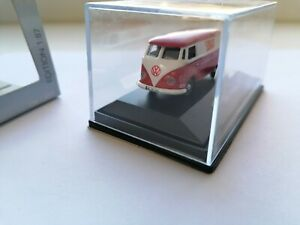 SCHUCO VW T1 BULLI VAN SONAX PROMO Collectible Volkswagen T1 bus MODEL