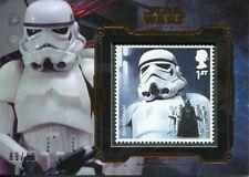 Star Wars Masterwork 2016 Bronze Royal Mail Stamp Card [99] Stormtrooper