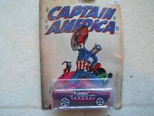 HOT WHEELS  CAPTAIN  AMERICA  70' FORD MUSTANG MACH 1