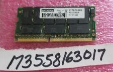 512MB 2RX8 PC133 3.3V SDRAM 133 144PIN SODIMM ECC NON-REG DUAL RANK 32X8