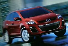 2010 Mazda CX-7 SUV sales brochure promotional literature 24 pages full color