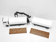601 1:87 gelaserte Holzauflagen für Herpa Baustoffhängerzug für Umbau / Eigenbau