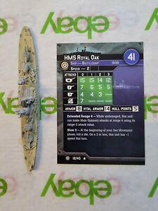 Q  Axis Allies War at Sea Miniatures UK HMS Royal Oak