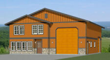 44x48 House with 1-RV Garage - PDF FloorPlan - 2,185 sqft - Model 2F