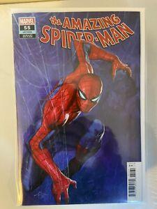 Amazing Spider-Man #55 LGY 856 Dell'Otto Variant NM Marvel Comics