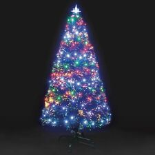 Snowtime Fibra Óptica Galaxy 240 LED Árbol De Navidad-Multi - 180cm/1.8m/6ft