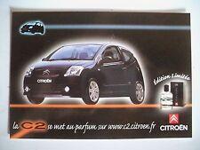 CPA Carte Postale CITROËN C2 Edition Limitée Parfum
