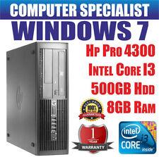 Computer desktop HP RAM 8GB