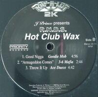 "J. PRINCE / R.N.D.S. ""HOT CLUB WAX"" 1999 2X VINYL LP COMPILATION TELA *SEALED*"
