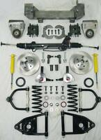 1949 - 1954 Chevy Car Mustang II Bolt On Power Front End Suspension Kit IFS