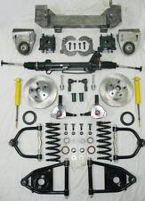 1949 - 1954 Chevy Car Mustang II Power Front End Suspension Kit IFS Stock Height