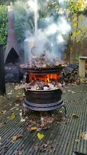 Double Rim - Garden Incinerator / Firepit / BBQ / Barbecue - Get's really HOT!