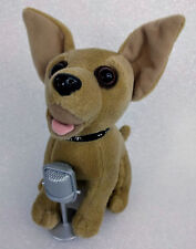 Yo Quiero TACO BELL Plush Singing Chances Are CHIHUAHUA Dog with Microphone